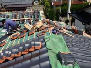 西様邸 屋根写真1