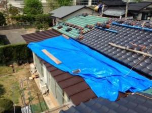 西様邸屋根写真3