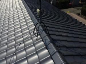 完成屋根 2