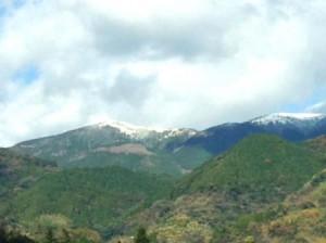 天山 初雪 1