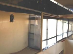 出窓 ステンレス貼り 2