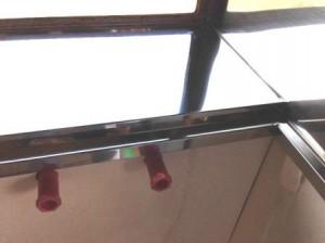 出窓 ステンレス貼り 1