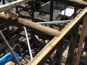 小屋 構造補強1