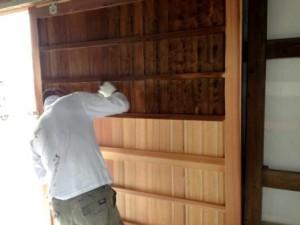 建具工事 塗装 3