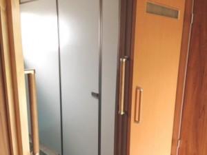 完成 トイレ ドア