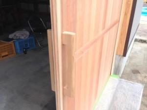 建具工事 塗装 2