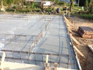 ベースコンクリート 1