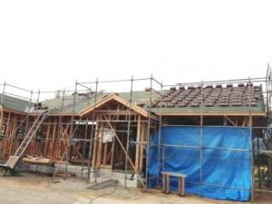 屋根 工事1