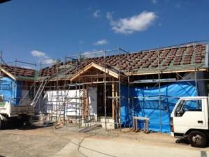 屋根・外壁下地工事1