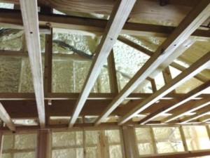 和室 天井下地 1