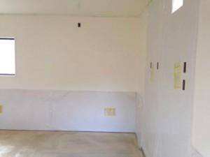 厨房 塗装床・壁