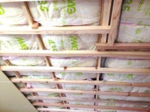 天井貼り工事1
