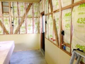 壁貼り工事 1