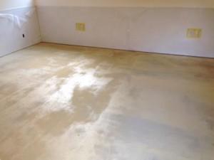 厨房 塗装床1