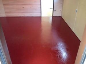 店舗 塗装床
