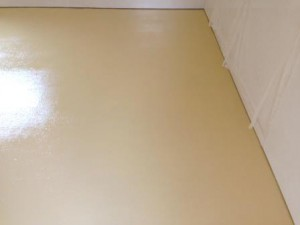 厨房 塗装床 仕上がり 1