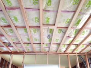 天井貼り工事2