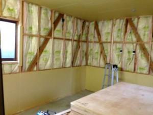 壁貼り工事2
