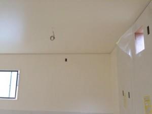 厨房 天井・壁 塗装 1