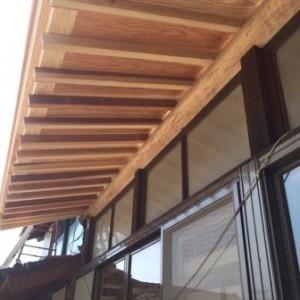 縁側 屋根1