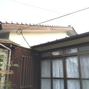 既存 屋根破風板