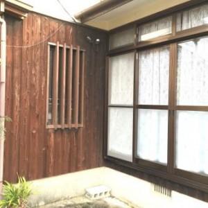 既存 玄関窓2